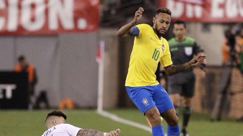 Brazália neymar futbal