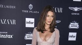 Topmodelka Bella Hadid vyzerala ako absolútna sexbomba.