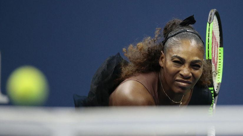 US Open Tennis serena