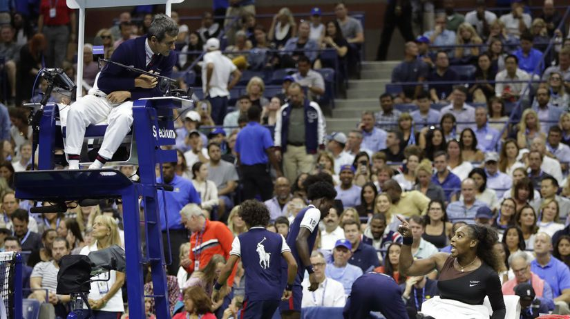APTOPIX US Open Tennis Serena