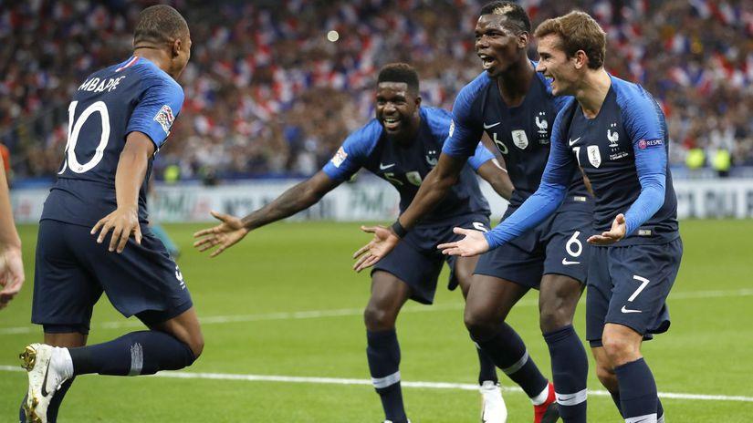 futbal Mbappé