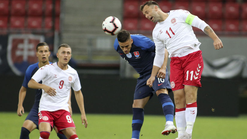 Slovakia Denmark Soccer Mazáň