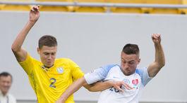 Ukrajina futbal LN Slovensko mak