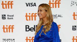 Česká modelka Petra Němcová na filmovom festivale v Toronte.