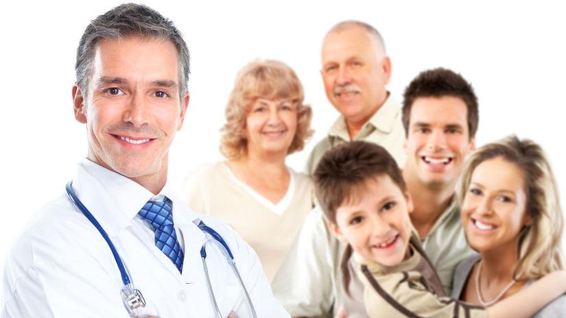 lekár, pacienti, poisťovňa