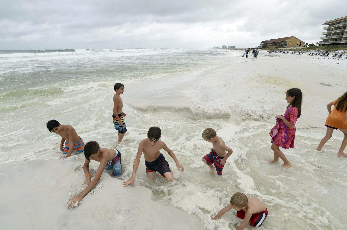more, deti, dovolenka, cestovanie, Florida, pláž