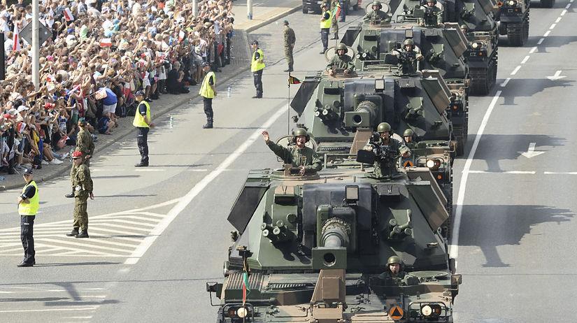 Poľsko Deň armády vojenská prehliadka Varšava