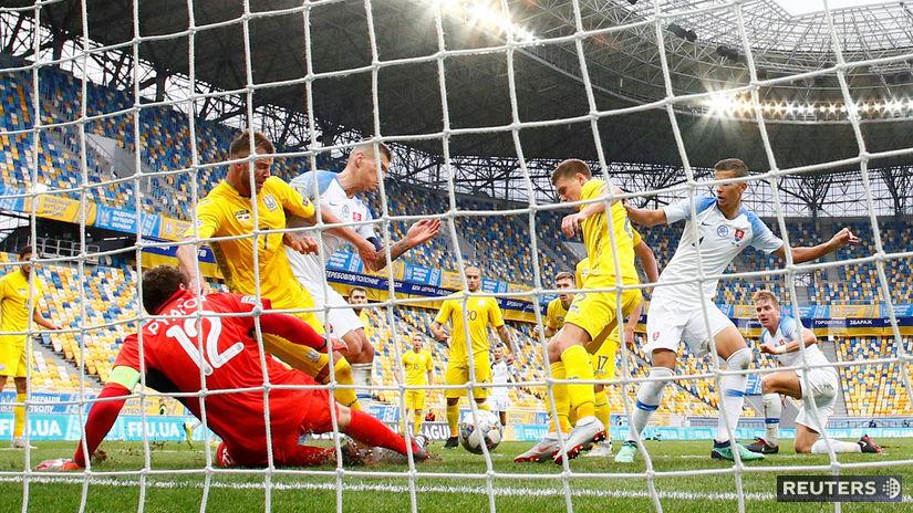Ukrajina, Slovensko, futbal