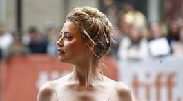 FILMFESTIVAL-TIFF/Herečka Amber Heard na premiére filmu Her Smell v Toronte.