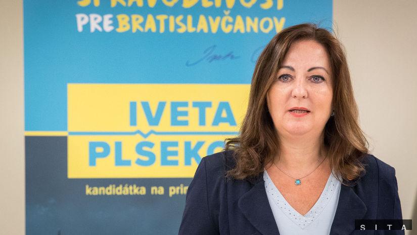 PLŠEKOVÁ: Kandidatúra na primátorku Bratislavy