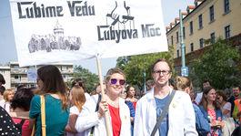PROTEST: Iniciatíva Veda chce žiť