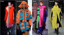 trendy, jeseň-zima 2018/2019, 18 top trendov sezóny, workwear, technické materiály