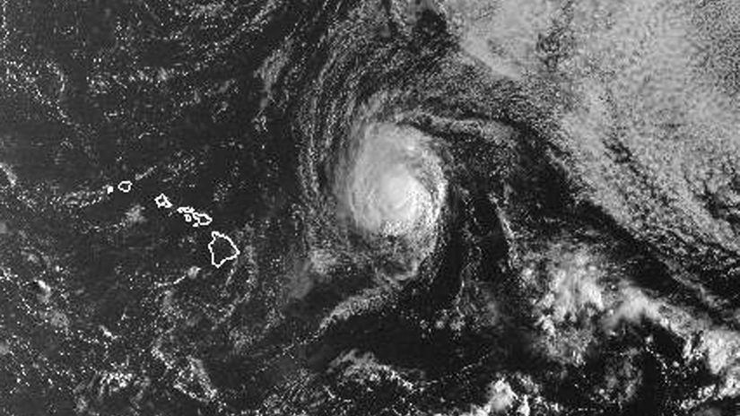 tropická búrka Olivia, Havaj, Honolulu