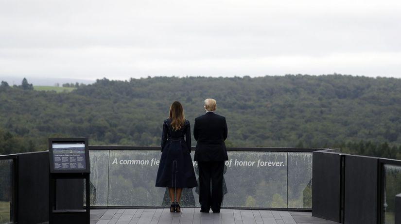 Donald Trump, výročie, pamätník