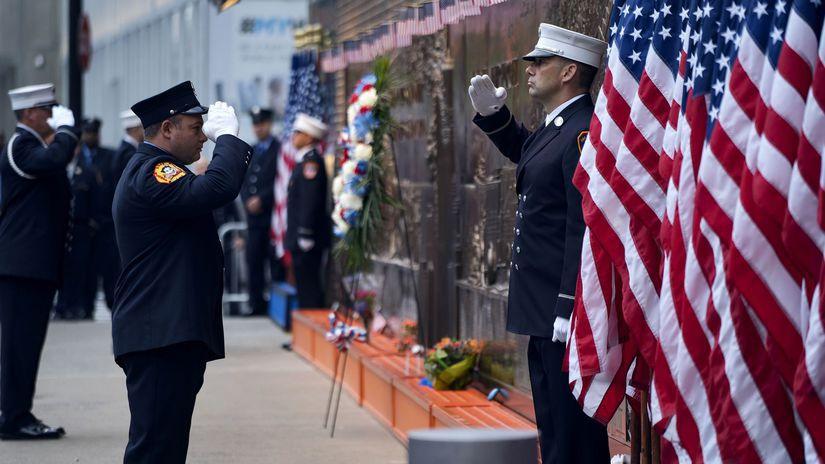 výrošie teroristického útoku USA hasiči 11.9.