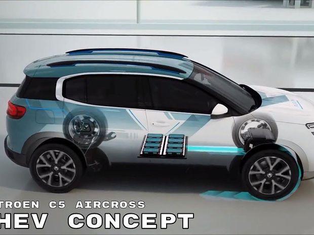Citroën C5 Aircross PHEV Concept - 2018