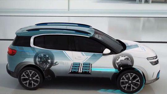 Citroën C5 Aircross: Prvý plug-in hybrid sa ukáže ako koncept. 4x4 nedostane