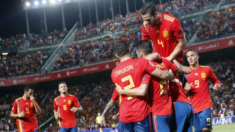 futbal španielsko