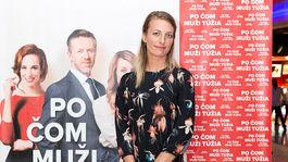 Herečka Anna Polívková na premiére filmu Po čom muži túžia.