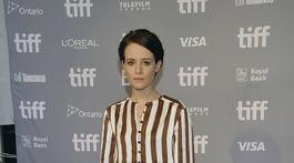 Herečka Claire Foy stvárňuje vo filme Prvý človek hlavnú ženskú postavu.