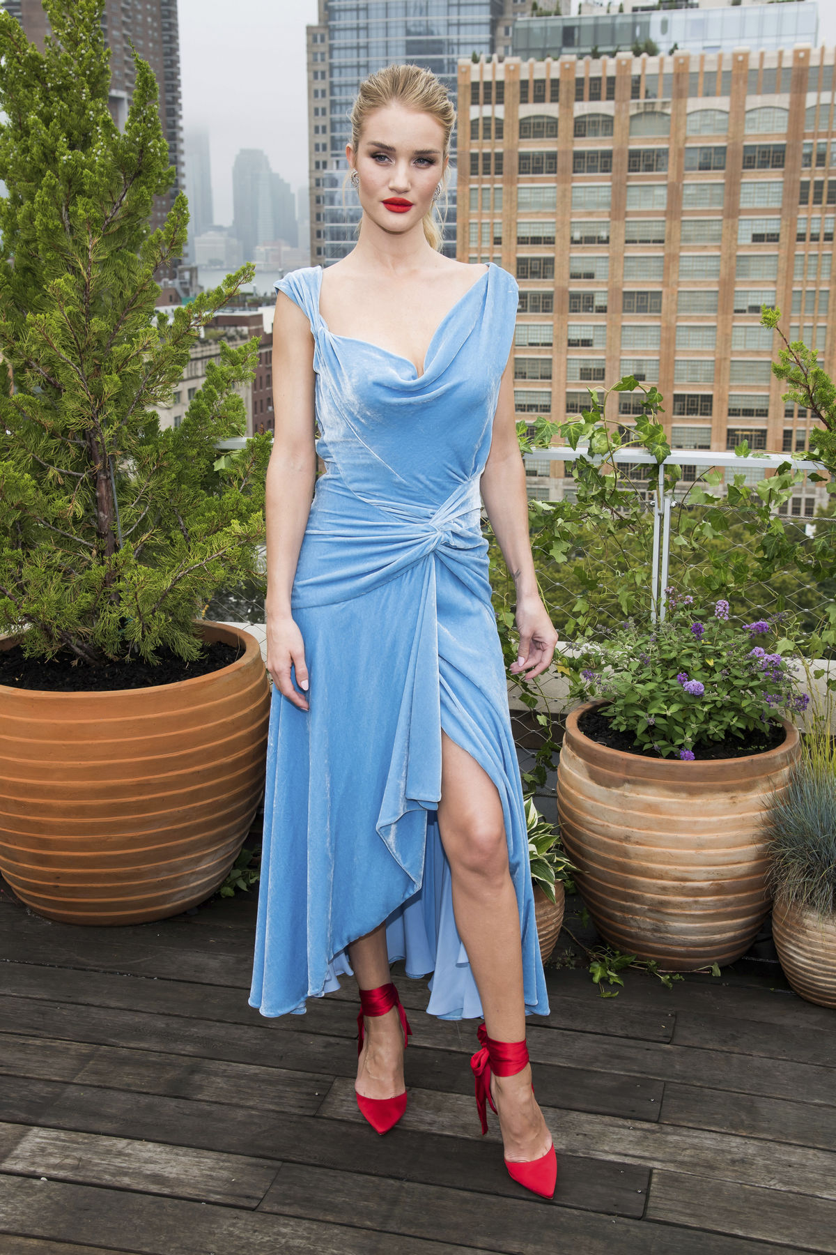Modelka a herečka Rosie Huntington-Whiteley...