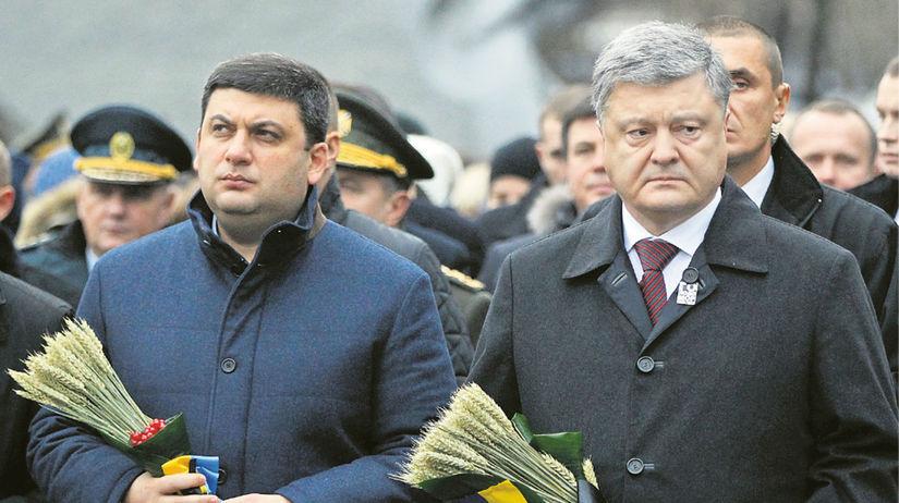 Petro Porošenko, Volodymyr Grojsman