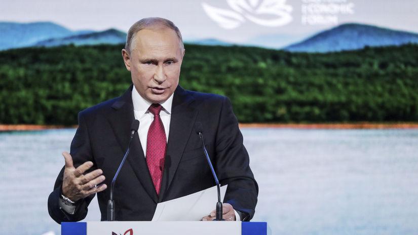 Rusko Východné ekonomické fórum Putin