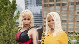 Raperka Nicki Minaj a jej mama Carol Maraj.