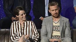 Ryan Gosling a jeho kolegyňa Claire Foy