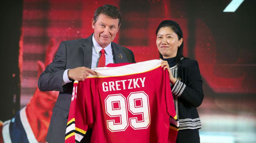China Gretzky NHL
