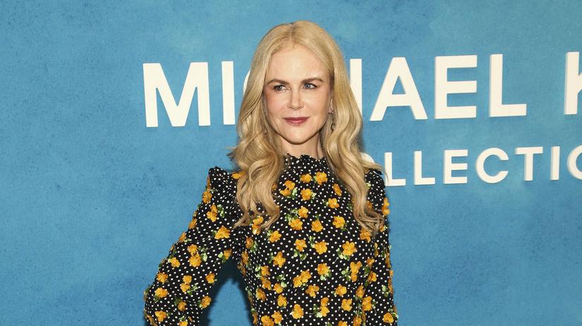 Herečka Nicole Kidman pred prehliadkou...