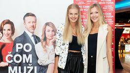 Missky Dominika Grecová (vľavo) a Radka Grendová.
