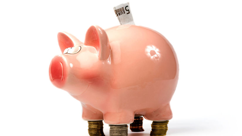 pokladnička, úspory, prasiatko, peniaze