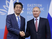 Šinzó Abe, Vladimir Putin