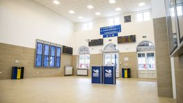Hlavná stanica Bratislava, čakáreň, otvorenie