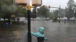 hurikán florence, usa, počasie