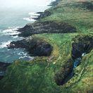 Írsko, Dundeady Island, útesy, more