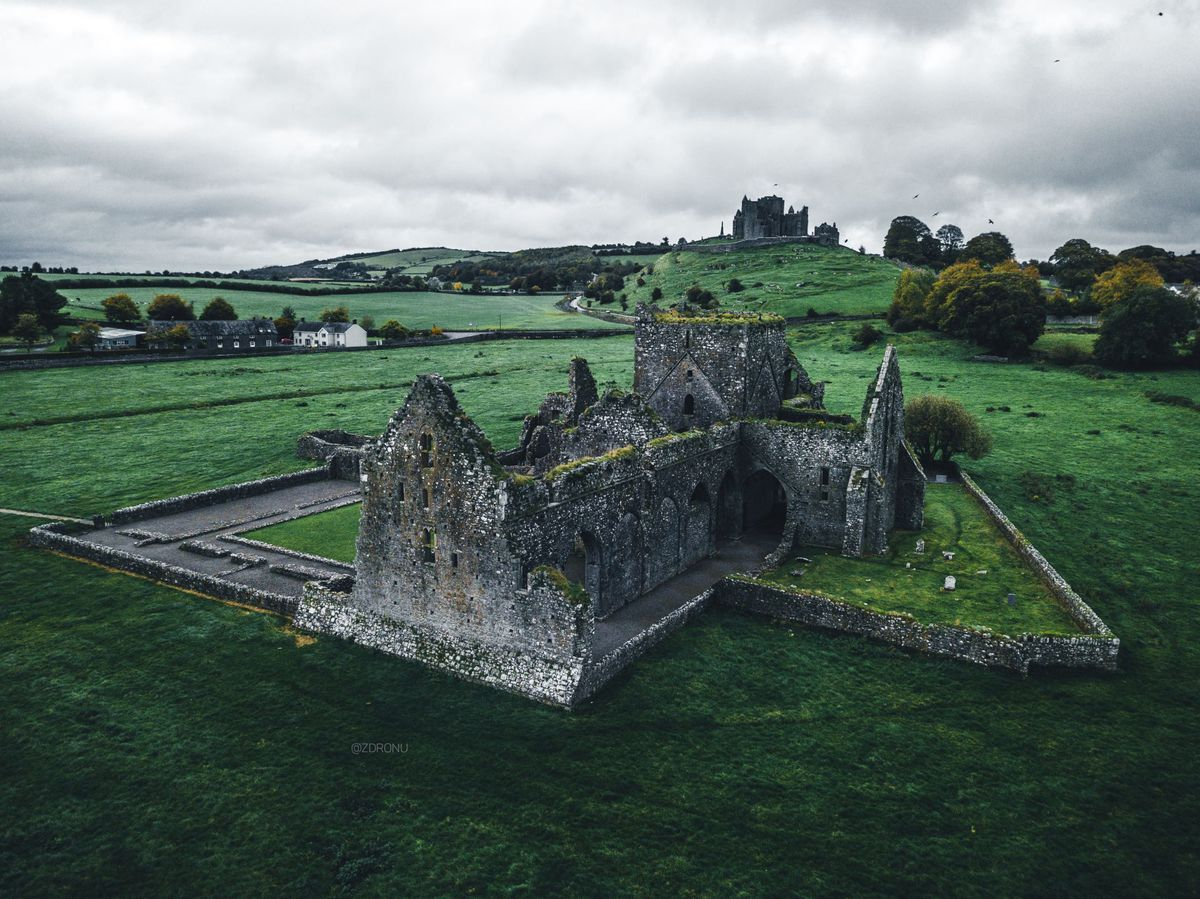 Rock of Cashel, Írsko, hrad