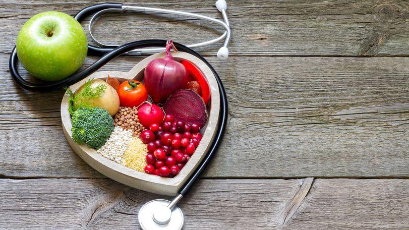 srdce, tlak, fibrilácia, výživa, zelenina,...
