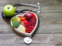 srdce, tlak, fibrilácia, výživa, zelenina, stetoskop