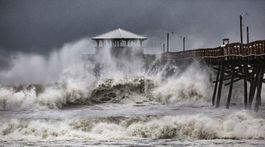 usa, počasie, hurikán florence