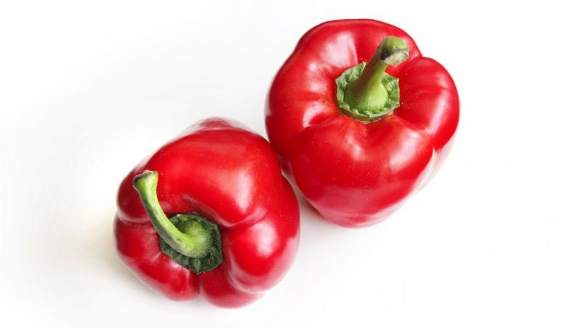 červená paprika, betakarotén