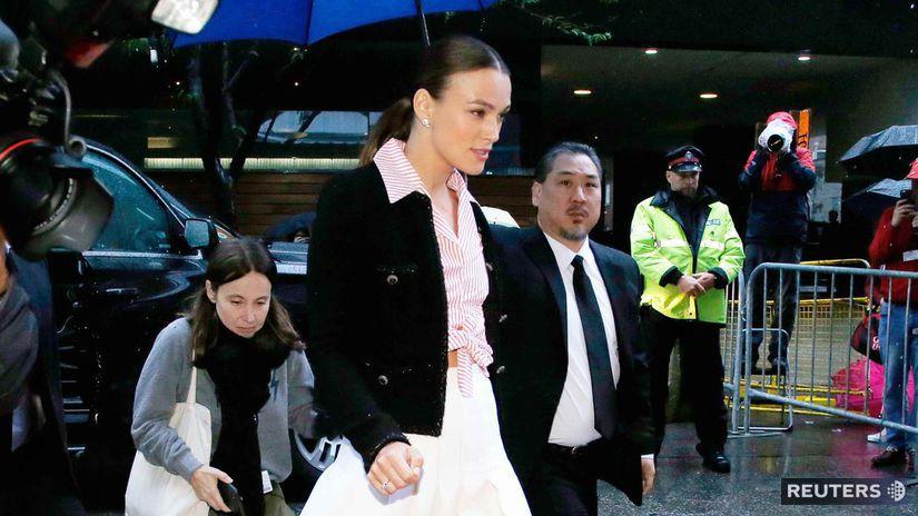 Herečka Keira Knightley priniesla do Toronta...