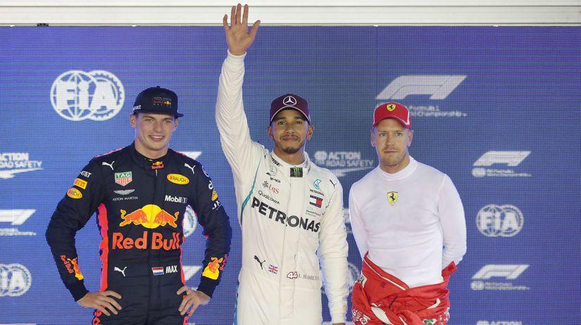 Singapore F1 GP Hamilton