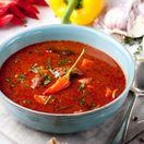 červená paprika, polievka