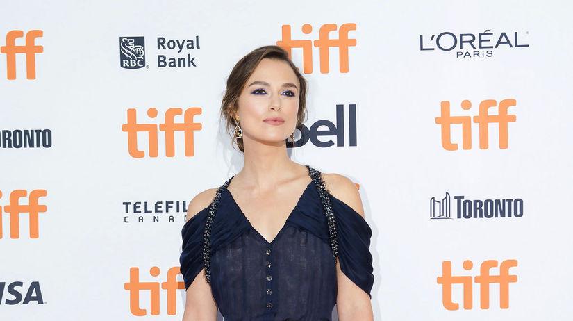Herečka Keira Knightley predstavila film...