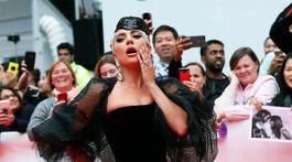 Herečka Keira Knightley predstavila film Colette v kreácii Chanel Haute Couture.
