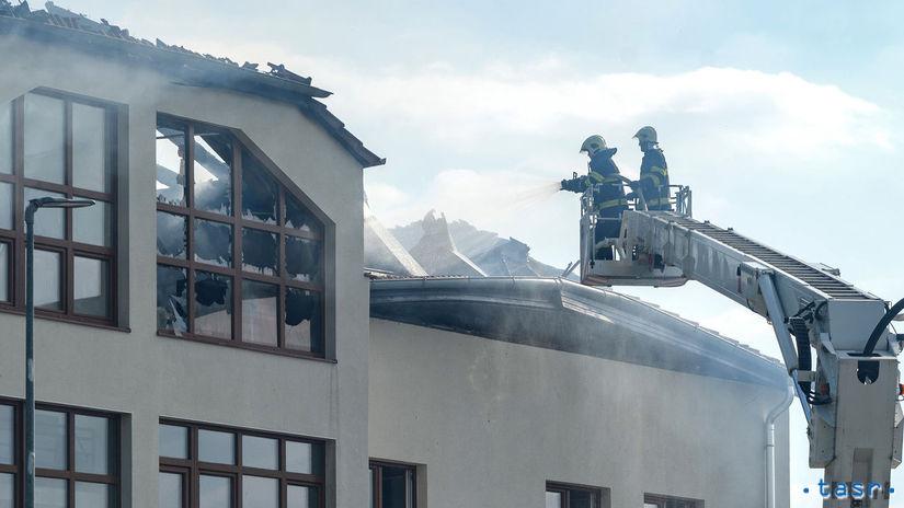Nové Sady požiar obecný úrad škôlka