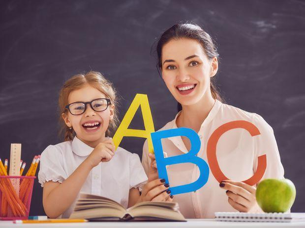 pedagogička, učiteľka, škola, školák,žiak