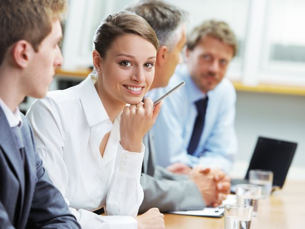 práca, kariéra, žena, firma, meeting, porada